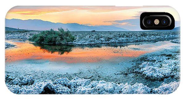Death Valley iPhone Case - Vanilla Sunset by Az Jackson