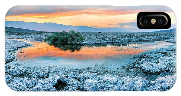 Death Valley iPhone Case - Vanilla Sunset by Az Jackson