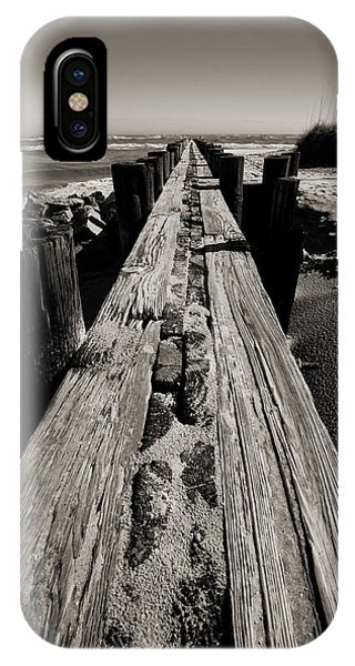 Vanishing Point Folly Beach IPhone Case