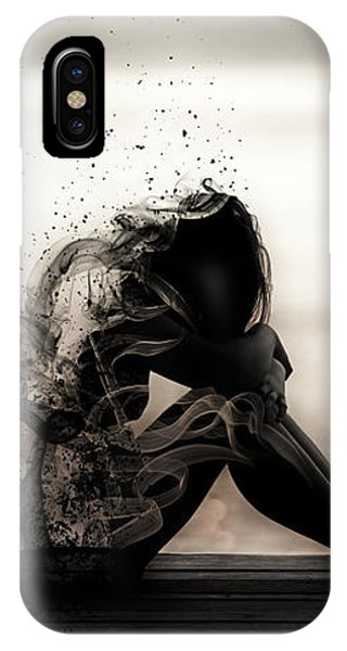 Vapours Of Sadness IPhone Case