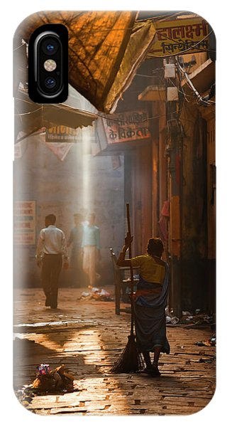 Varanasi Morning IPhone Case