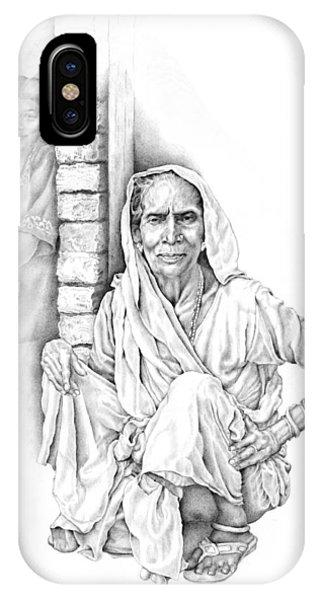 Varanasi Woman IPhone Case