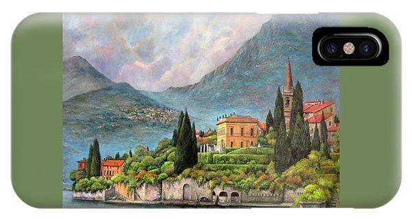 Varenna Italy IPhone Case