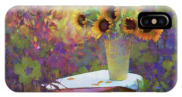 Vase De Fleurs 2017 IPhone Case
