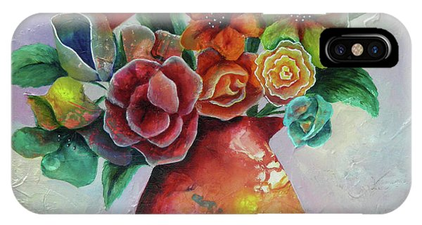 Vase Full Of Peace And Delight IPhone Case