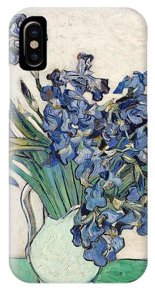 Van Gogh Irises Iphone Cases Fine Art America