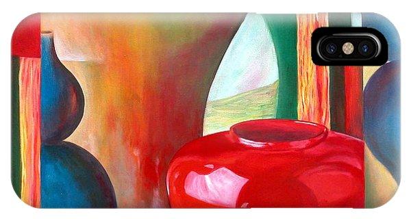 Vases Phone Case by Muriel Dolemieux