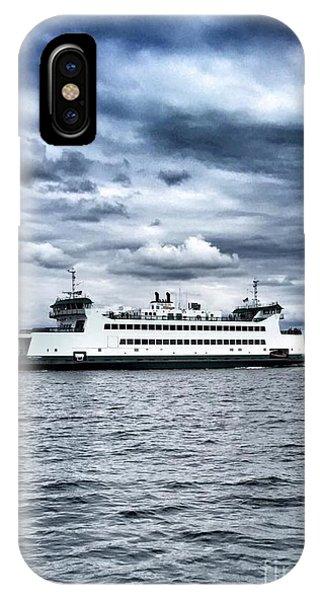 Vashon Island Ferry IPhone Case