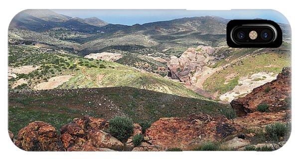 Vasquez Rocks Park IPhone Case