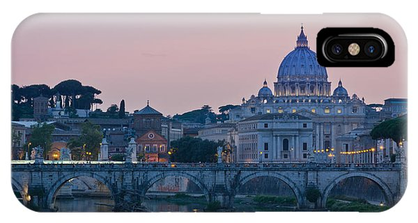 Vatican City At Sunset IPhone Case