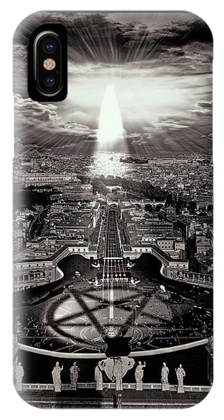 Vatican Rocking View Black And White IPhone Case