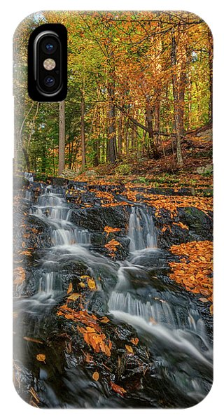 New England Fall Foliage iPhone Case - Vaughan Brook In Autumn by Rick Berk
