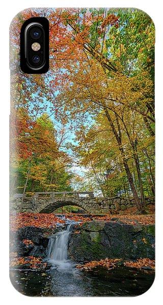 New England Fall Foliage iPhone Case - Vaughan Brook by Rick Berk