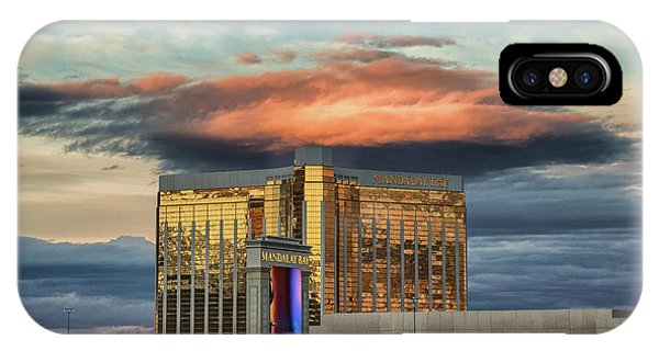 IPhone Case featuring the photograph Vegas by Michael Rogers