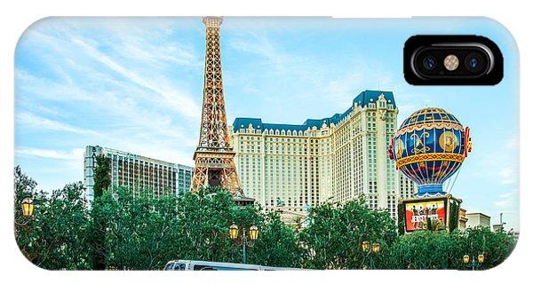 Las Vegas iPhone X Case - Vegas Vip by Az Jackson