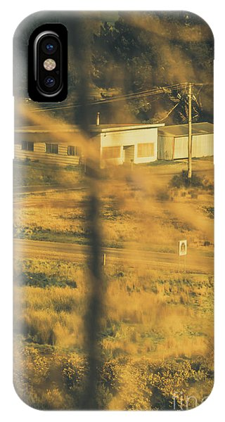 Sinister iPhone Case - Vegitation View Of Rural Farm Homestead  by Jorgo Photography - Wall Art Gallery
