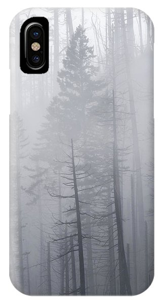 IPhone Case featuring the photograph Veiled In Mist by Dustin LeFevre