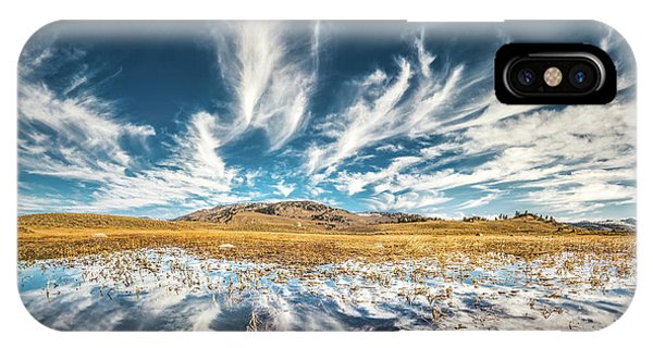 Veins Of Earth And Sky // Yellowstone National Park  IPhone Case