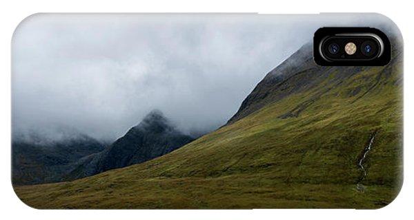 Fairy Glen iPhone Case - Velvet Hills In The Mist by Wendi Donaldson Laird