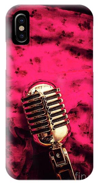 Pop-culture iPhone Case - Velvet Jazz Show by Jorgo Photography - Wall Art Gallery