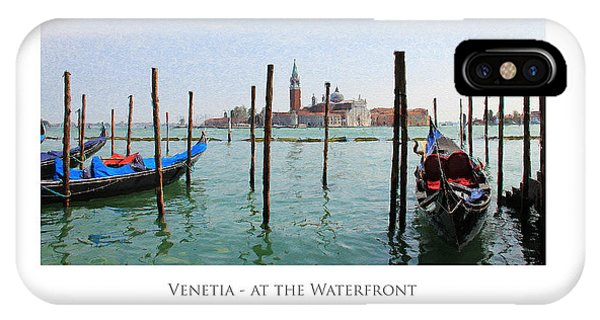 Venetia - At The Waterfront IPhone Case