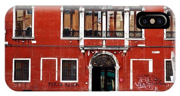 Venetian Architecture Phone Case by John Rizzuto