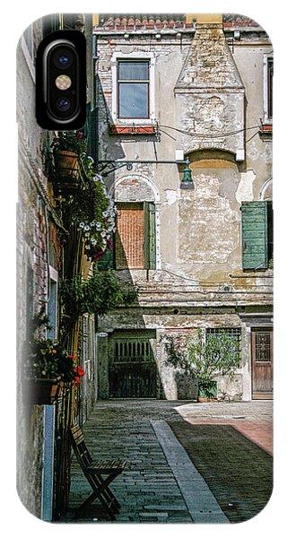 Venetian Back Street IPhone Case
