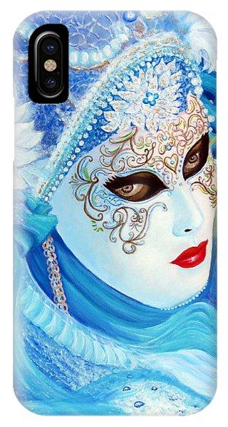 Venetian Carnival Mask 2015 IPhone Case