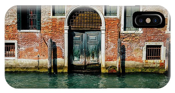 Venetian House On Canal IPhone Case