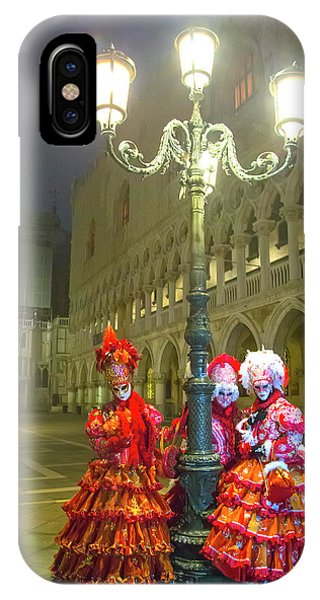Venetian Ladies In San Marcos Square IPhone Case