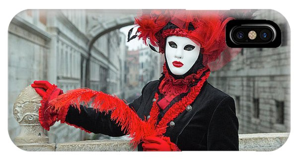 Venetian Lady At The Bridge Of Sighs IPhone Case