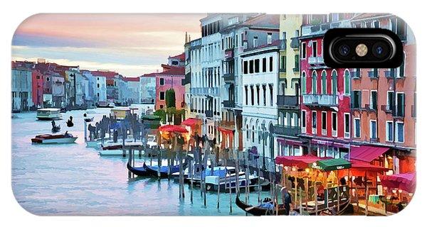 Venetian Sunset IPhone Case