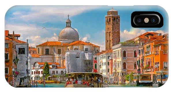 Venezia. Fermata San Marcuola IPhone Case