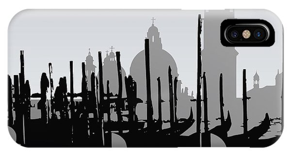 Venice Black And White IPhone Case