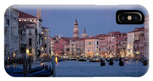 Venice Blue Hour 2 IPhone Case