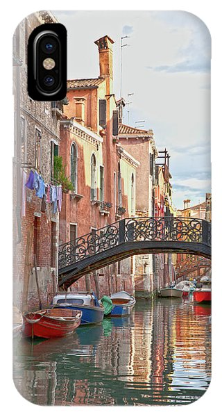 Venice Bridge Crossing 5 IPhone Case