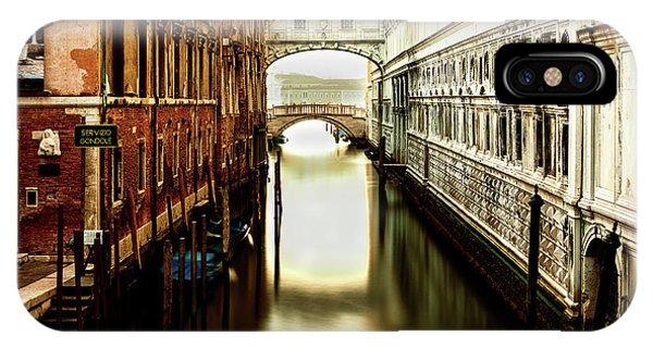 Venice Bridge Of Sighs IPhone Case