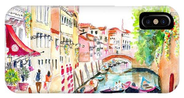 Venice Canal Boscolo Venezia IPhone Case