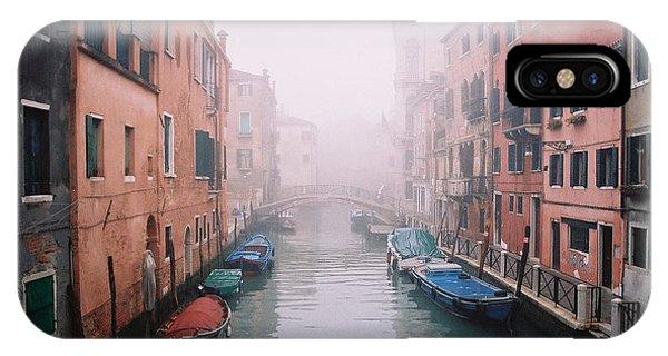Venice Canal I Phone Case by Kathy Schumann