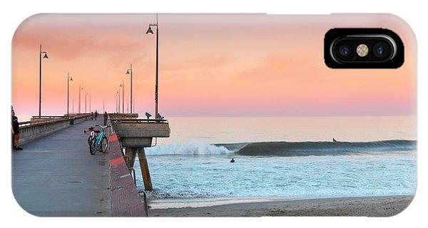Venice Beach iPhone Case - Venice Dawn by Sean Davey