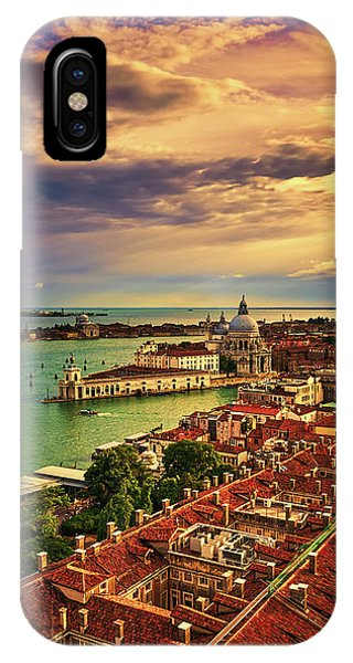 From The Bell Tower In Venice, Italy IPhone Case