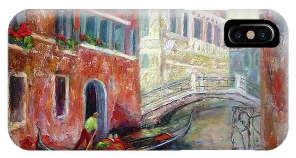 Venice Gondola Ride IPhone Case