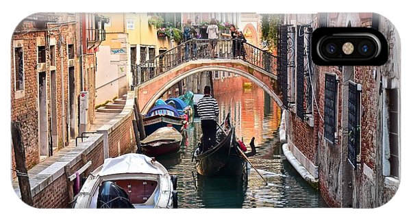 Venice Gondolier IPhone Case