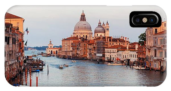 IPhone Case featuring the photograph Venice Grand Canal by Songquan Deng