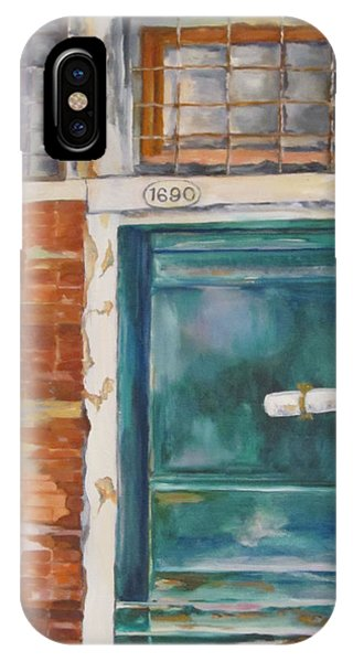 Venice Green Door IPhone Case