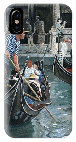 Venice. Il Bacino Orseolo IPhone Case