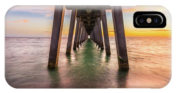 IPhone Case featuring the photograph Venice Pier by Expressive Landscapes Fine Art Photography by Thom