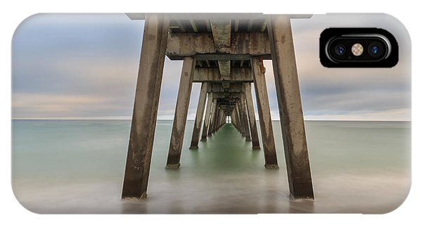IPhone Case featuring the photograph Venice Pier by Paul Schultz