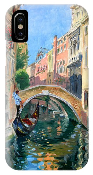 Italy iPhone Case - Venice Ponte Widmann by Ylli Haruni