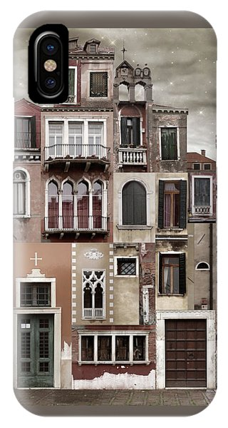 Venice Reconstruction 2 IPhone Case